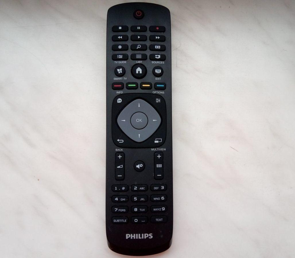 Пульт новый Philips, Smart TV, оригинал новый