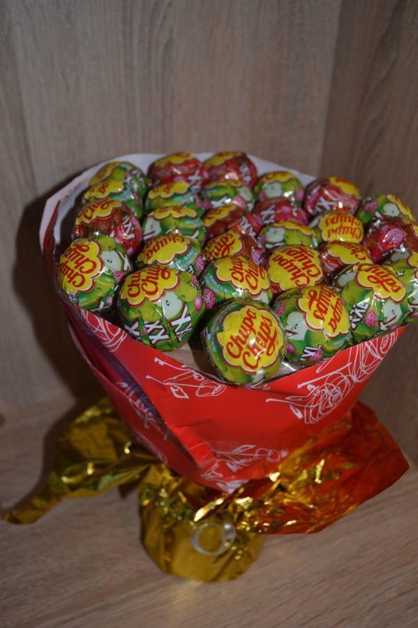 43dcba166bdb Букет из Чупа-чупсов XXL (Отличный подарок на 8 марта): 300 грн ...