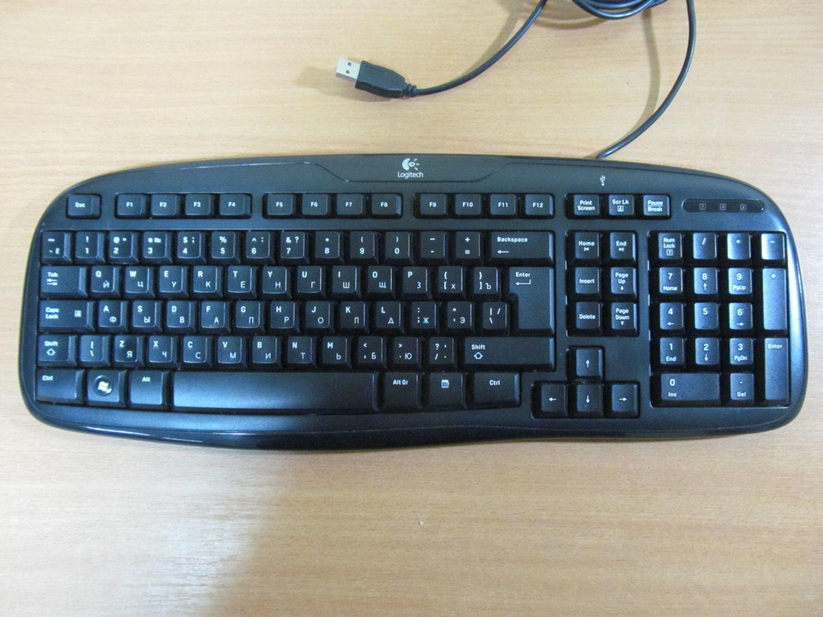 Клавиатура Logitech Classic 200 USB черная