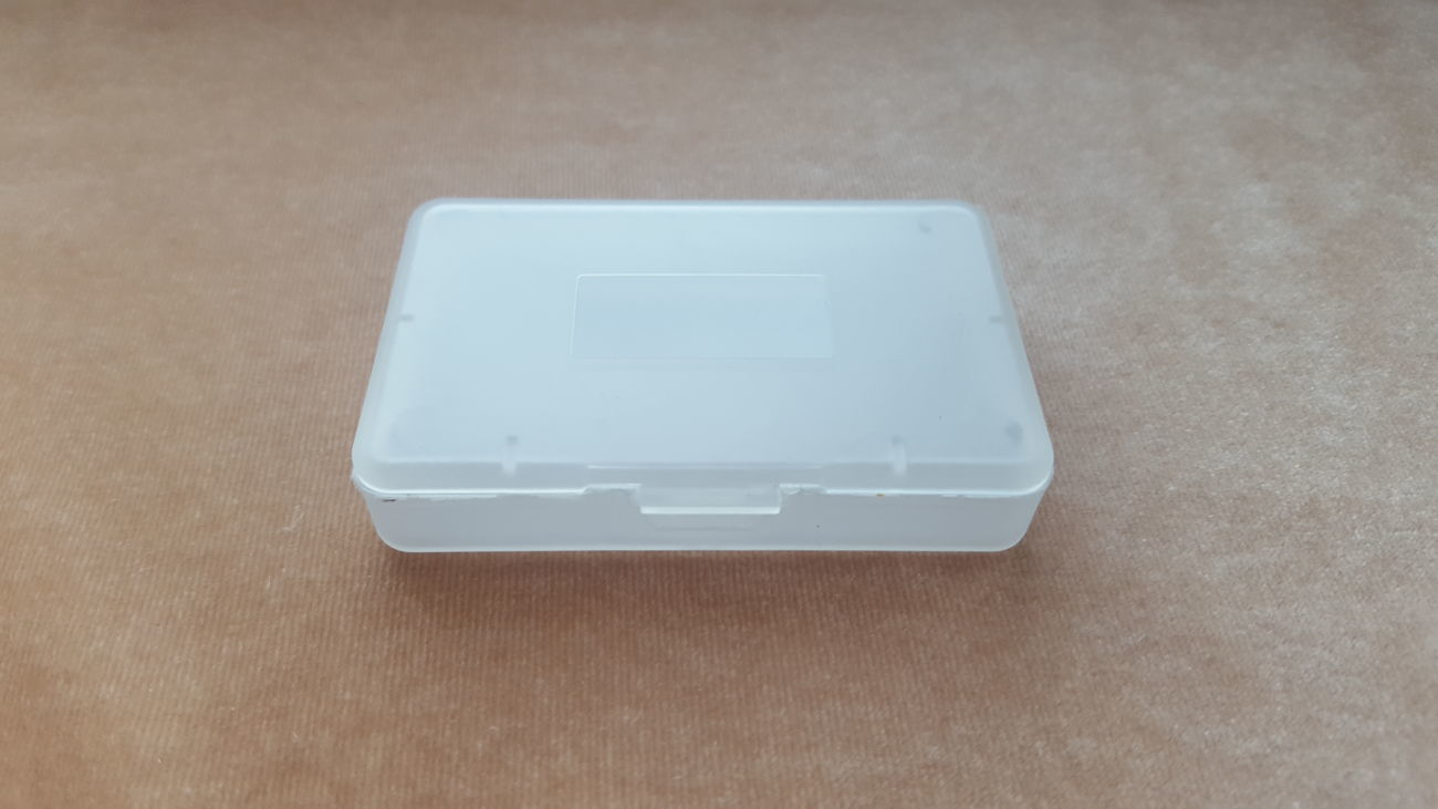 Футляры (боксы) для картриджей Nintendo Game Boy Advance (GBA)-Аналог!