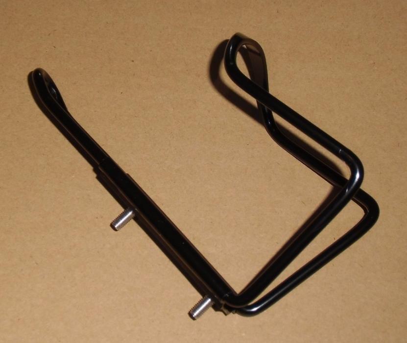 Флягодержатель для велосипеда черный алюминиевый + болты вело