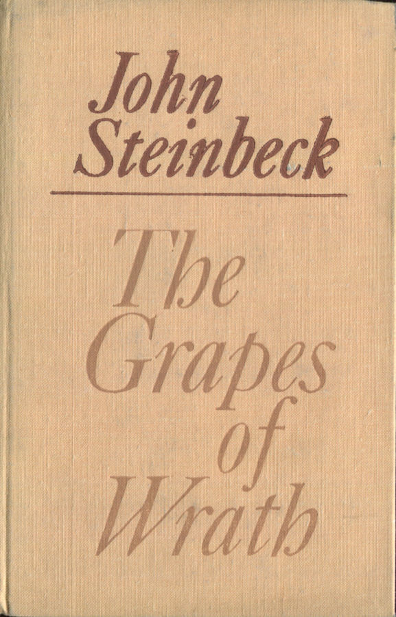 an analysis of the topic of the grapes of wrath by john steinbeck The grapes of wrath by john steinbeck home /  the grapes of wrath analysis  whoever said a road is just a road has not read the grapes of wrath from the.