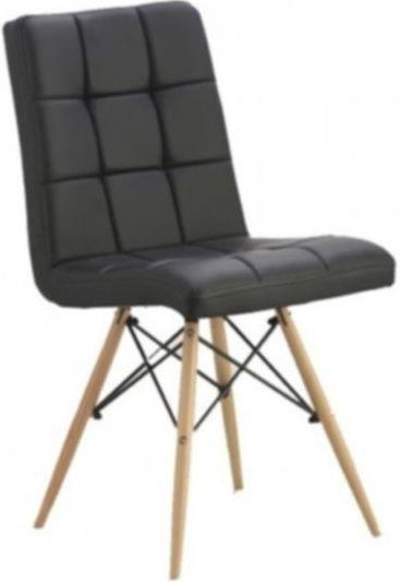 стул Оскар деревянные ножки кожзам мягкий