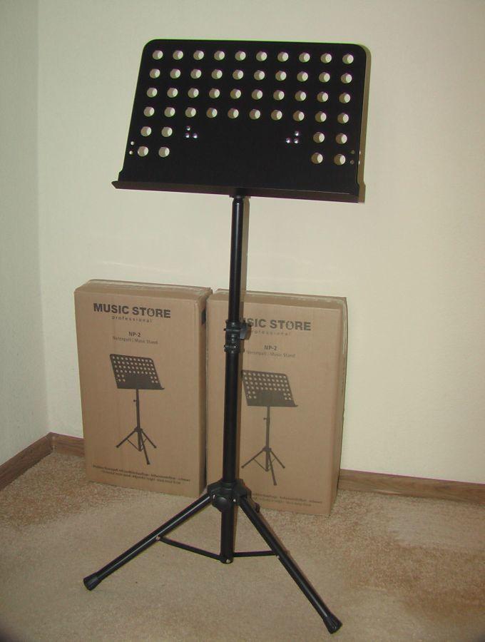 Пюпитр Music Store Notenpult Music Stand. Новый. Из Германии.