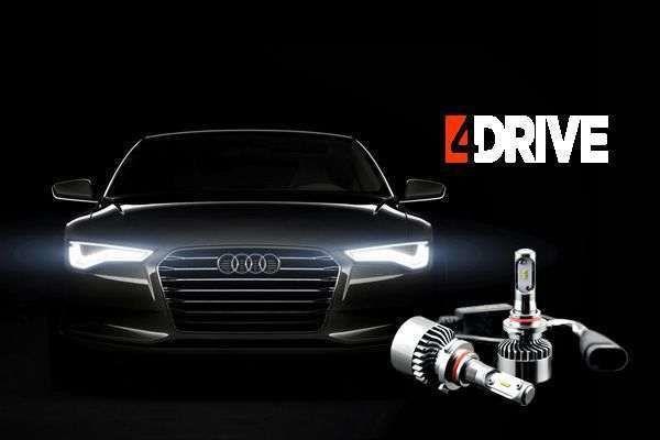 светодиодные лампы для автомобиля 4drive и Silane Guard в подарок