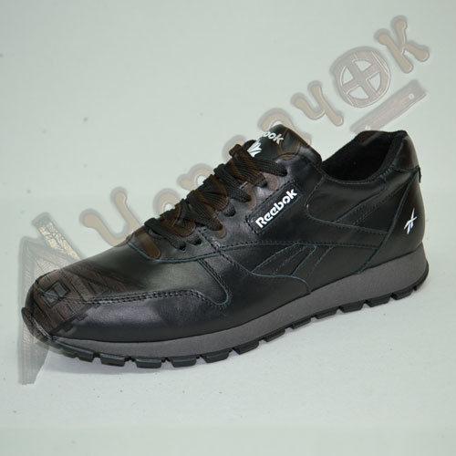 53b83b5a1 Купить сейчас - Кроссовки Reebok мужские кожаные (черные): 980 грн ...