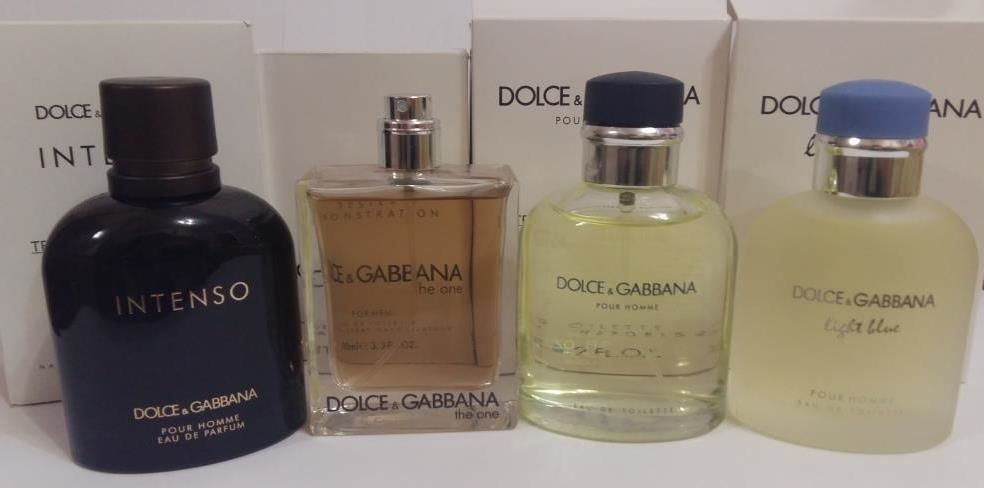 Dg Dolce Gabbana Pour Hommelight Blueintensotheone 125 мл