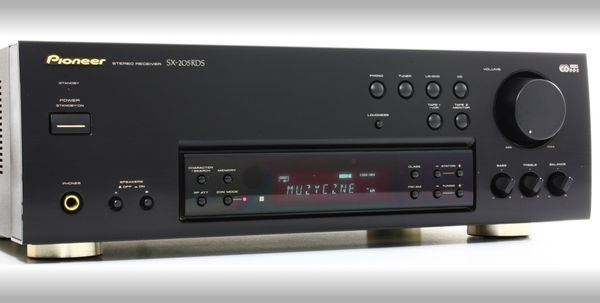 Ресивер ( усилитель + тюнер) PIONEER SX 205 RDS Из Германии. 120 Вт!
