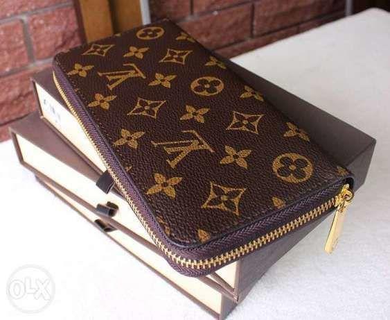 03a978219ac7 Купить сейчас - Кожаный Клатч Кошелек Louis Vuitton Monogram Луи ...