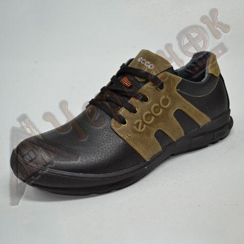 bba226756 Купить сейчас - Кроссовки мужские кожаные ECCO высокие (черные с ...