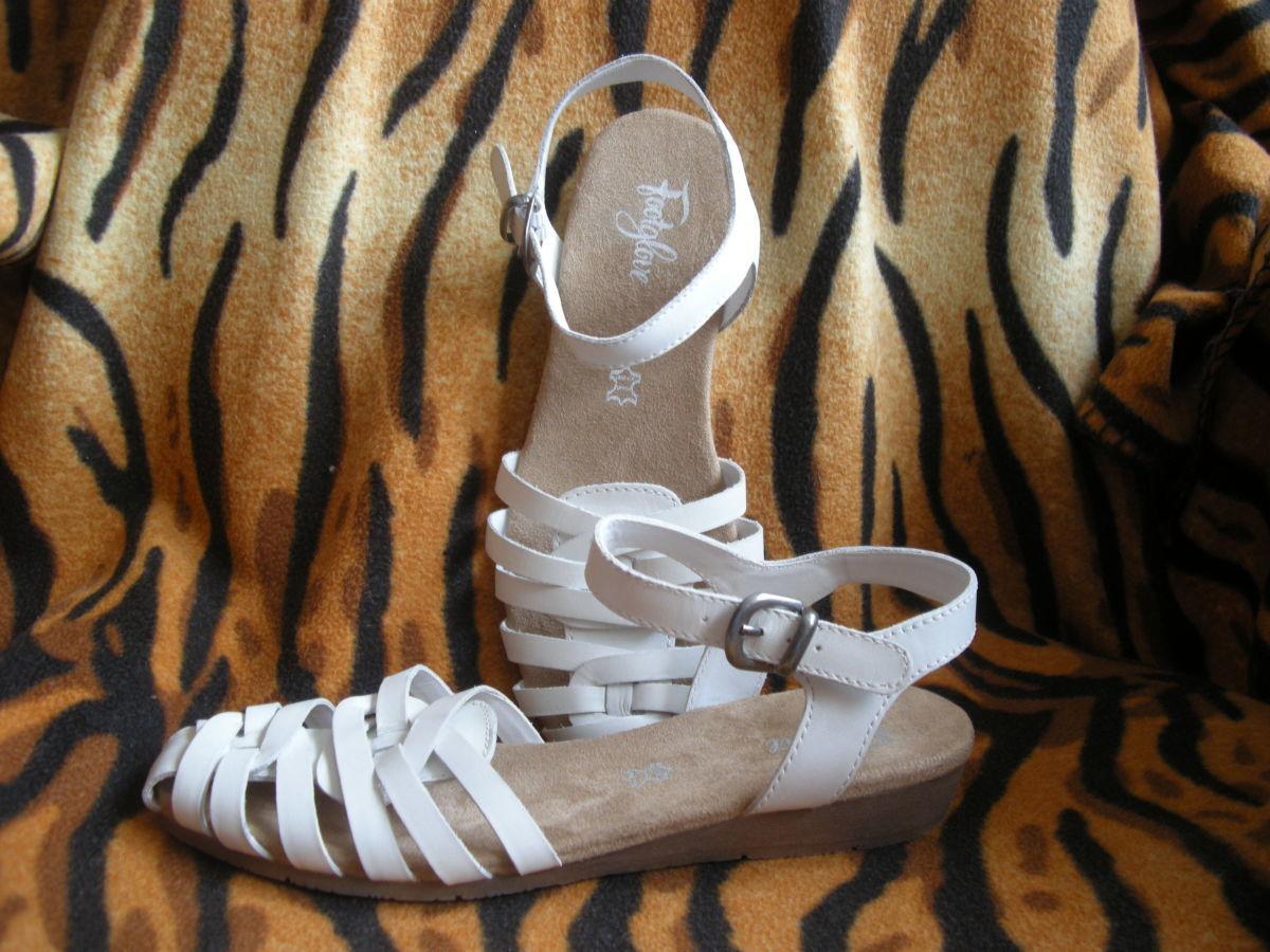 "Cупер босоножки""footglove""р.5,100%кожа,камбоджа."