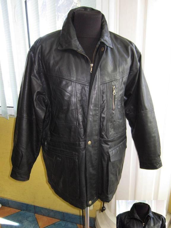 b3d493a0c0e Купить сейчас - Мужская оригинальная утеплённая кожаная куртка. 52р ...