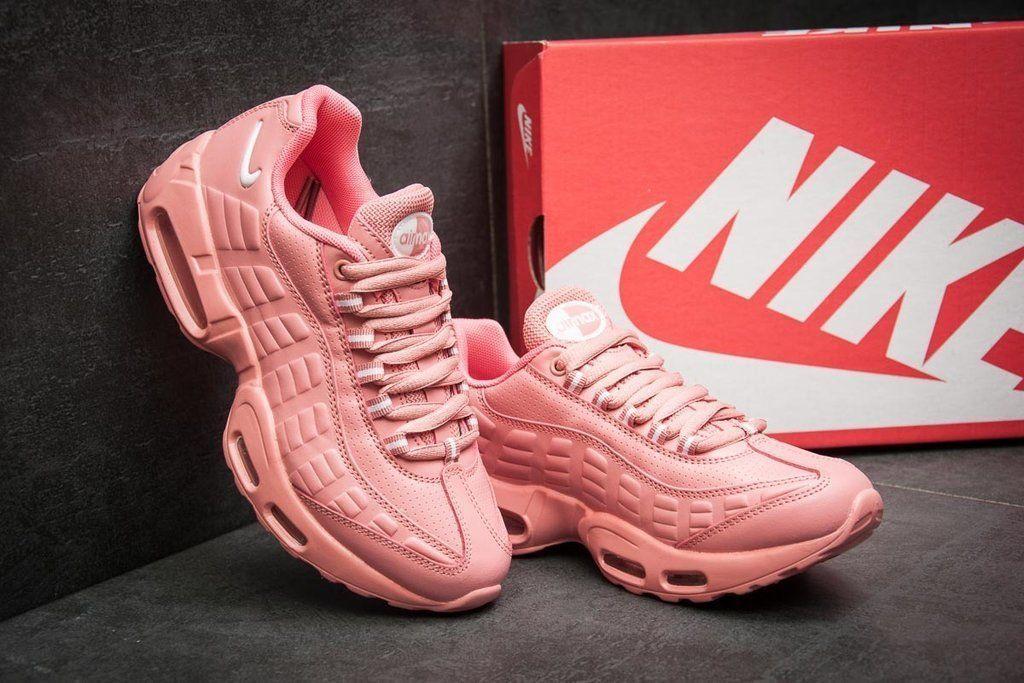aa0aa2e8 Купить сейчас - Кроссовки Женские Nike Air Max 95 кожаные розовые ...