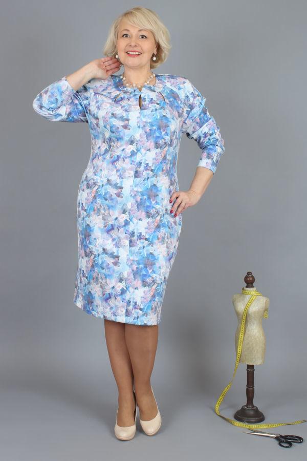 fcc4c1aa4da3 Платье женское большие размеры 62, 60, 58 - белорусский трикотаж