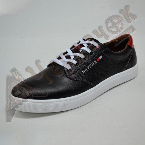 d330d750 Купить сейчас - Кеды кожаные Tommy Hilfiger (черные): 980 грн ...
