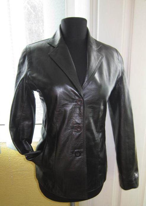 734a770c279 Купить сейчас - Модная женская кожаная куртка-пиджак Milestone. Лот ...