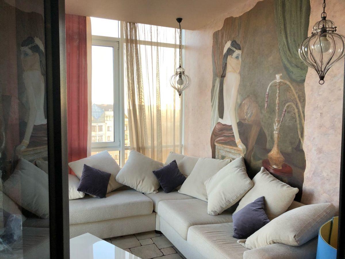 3 комнатная квартира 120м2. с видом на море на пр.Шевченко