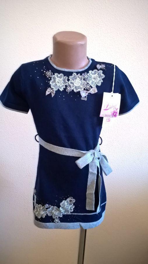 Платье-туника Zichao на девочку новое 4-5 лет
