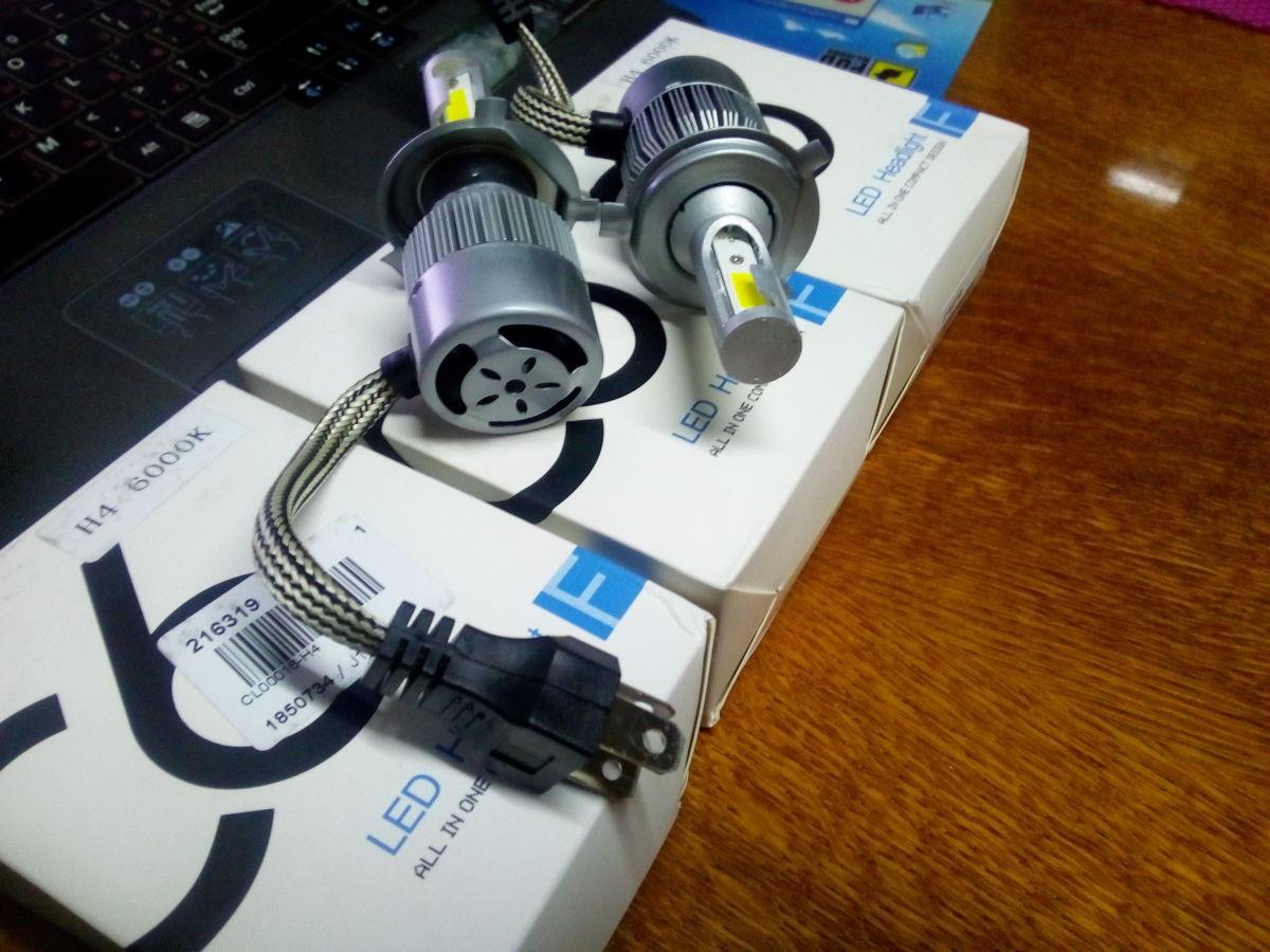 LED лампы C6 // Ксенон // Лед светодиодные Н4, Н1, Н3, Н7