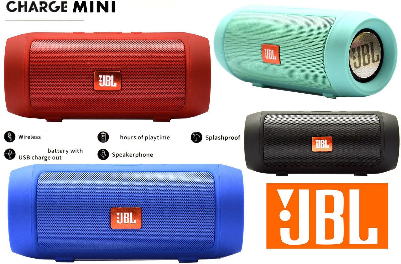 Портативная Bluetooth колонка JBL CHARGE mini 3+