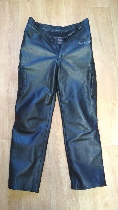 7caadcd856c8 Кожаные мужские джинсы (байкерские) элитные Англия