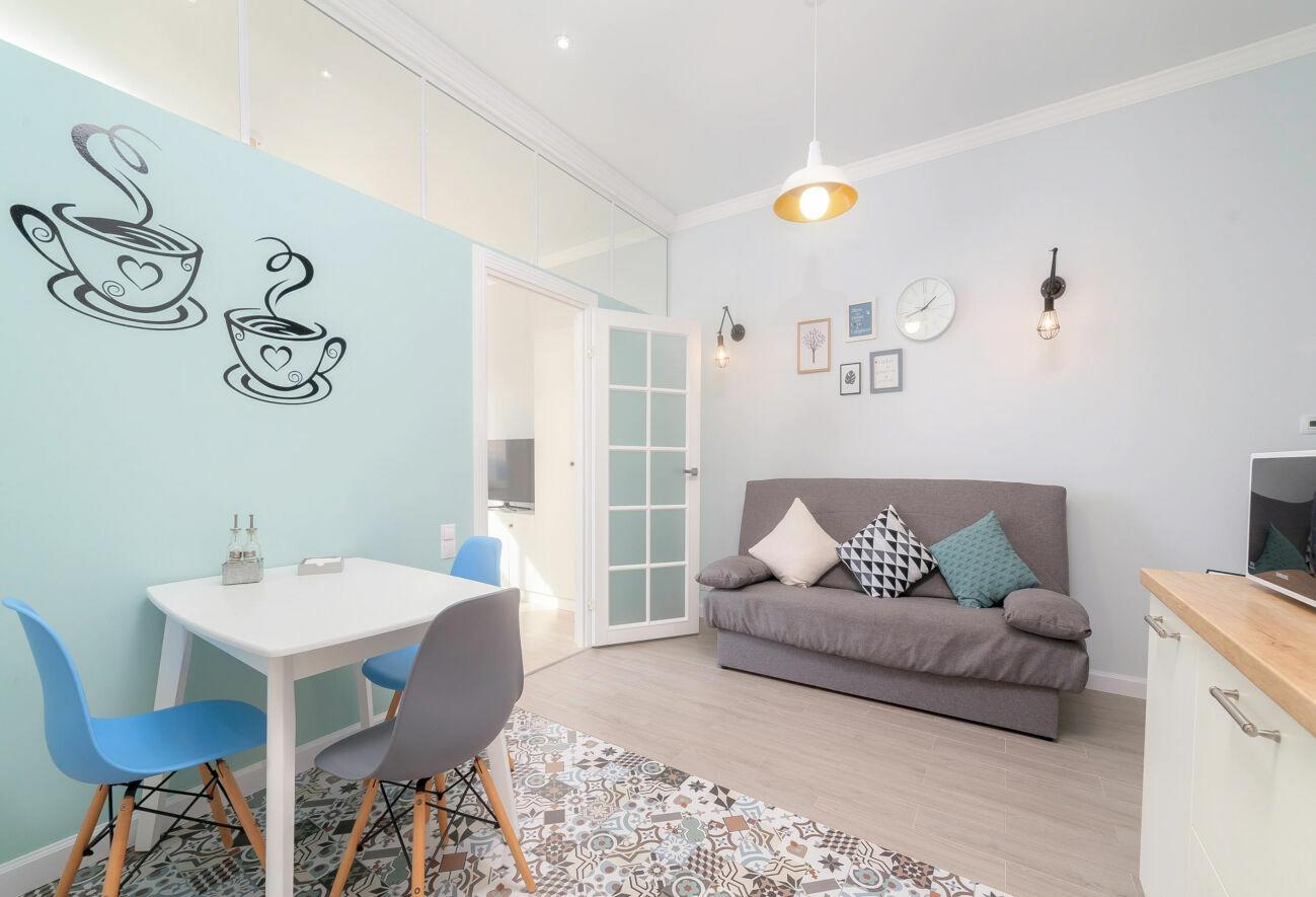 Новая квартира возле моря на французском бульваре