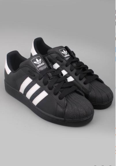 ba268516 Кроссовки Adidas Superstar черные с белыми полосками: 999 грн ...