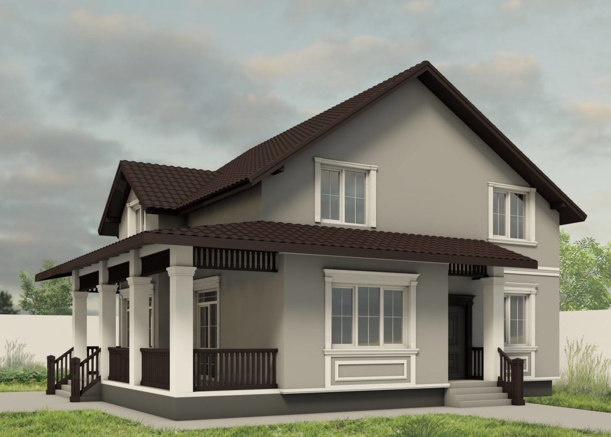 Дизайн фасада и фасадного декора