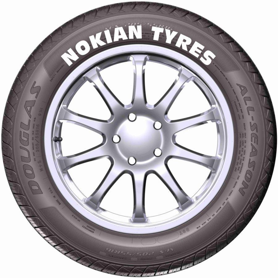 NOKIAN TIRES  надписи, наклейки на шины