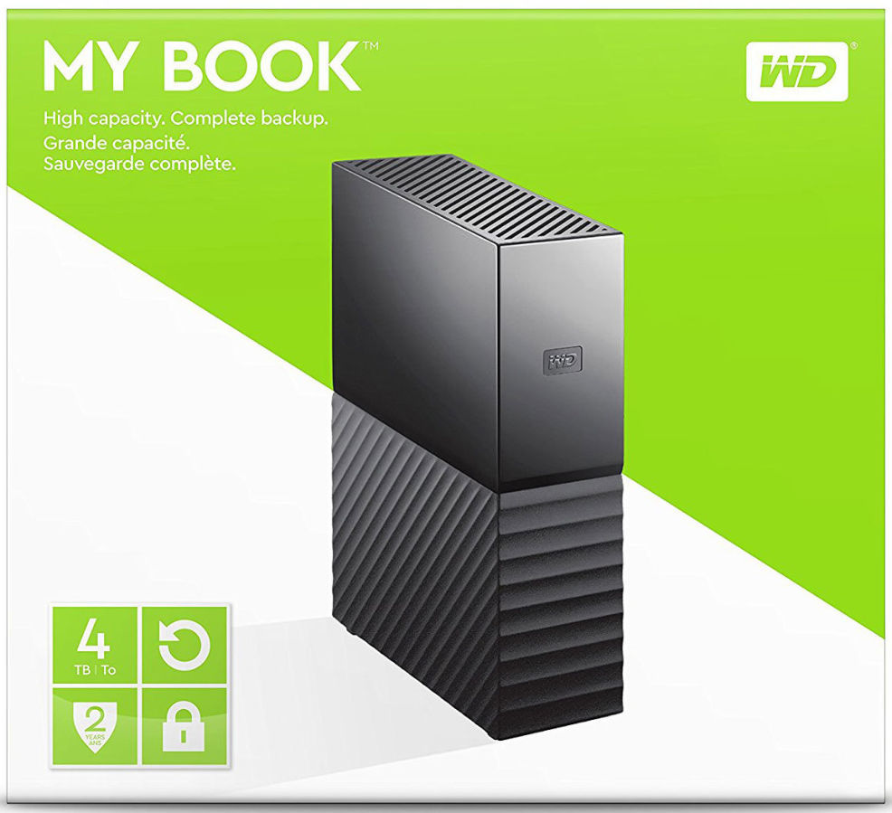 Внешний HDD Western Digital My Book 4TB USB 3.0 новый