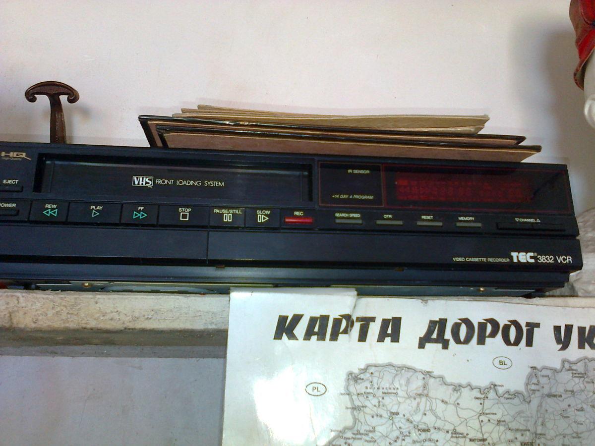 Видеомагнитофон 3832 VCR
