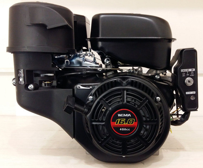 Двигатель 16 л.с. бензиновый Weima WM190FE
