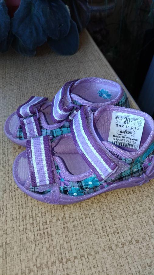 Босоніжки для дівчинки 7e0d943f64346