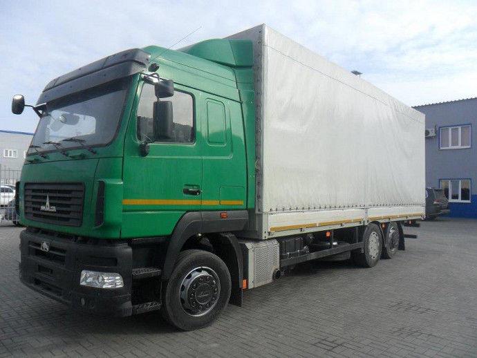 Новый грузовой автомобиль МАЗ-6310Е9-520-031