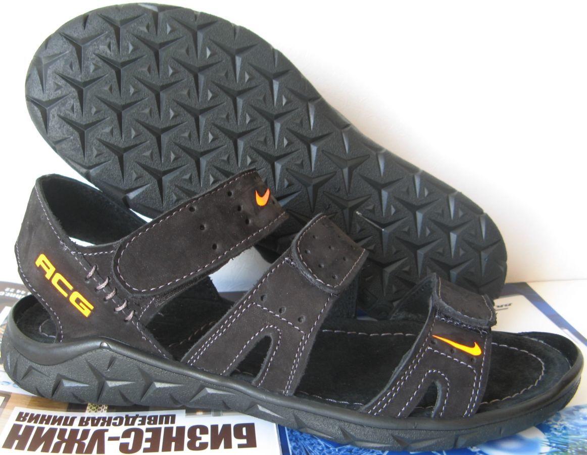 Кожаные летние мужские сандалии Nike c тремя полосками  600 грн ... 17ad320e24c5d