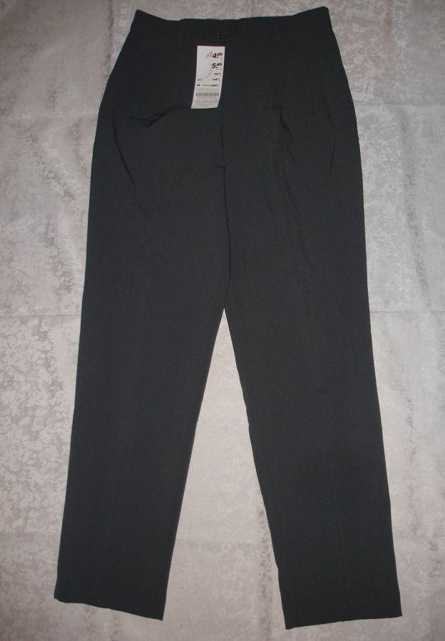 Штаны/брюки 44 р., сірі, нові, класичні, жіночі, полістер