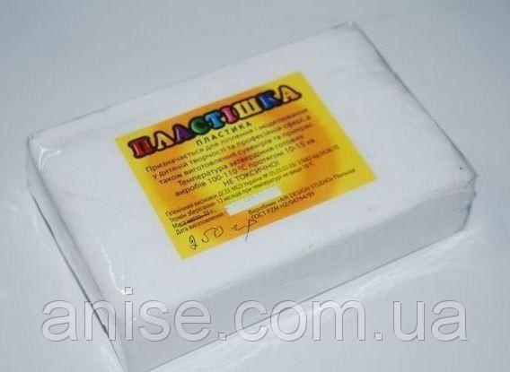 Полимерная глина Пластишка, №0101 белый, 250 г