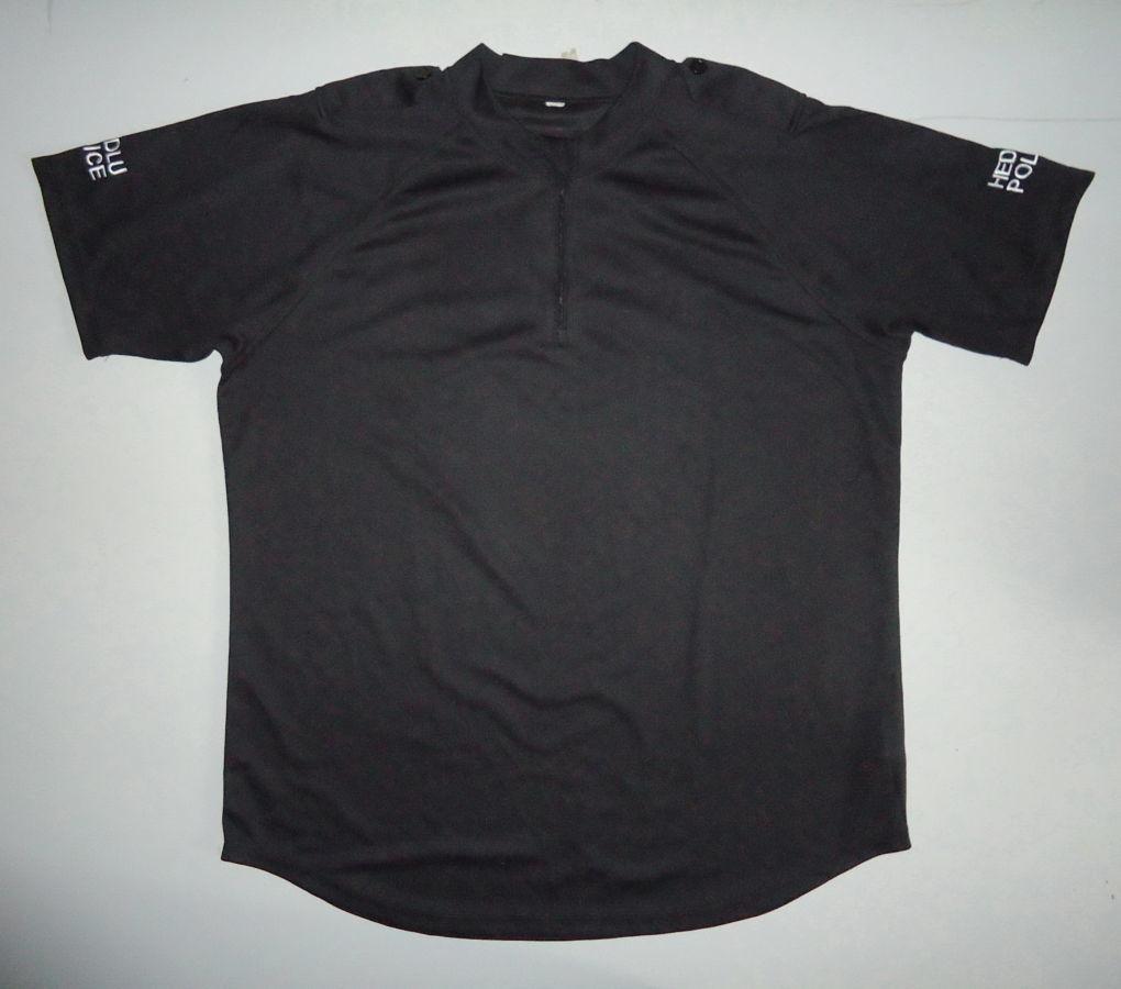 Спецодежда футболка Black tshirt Police черная Британия (XL)