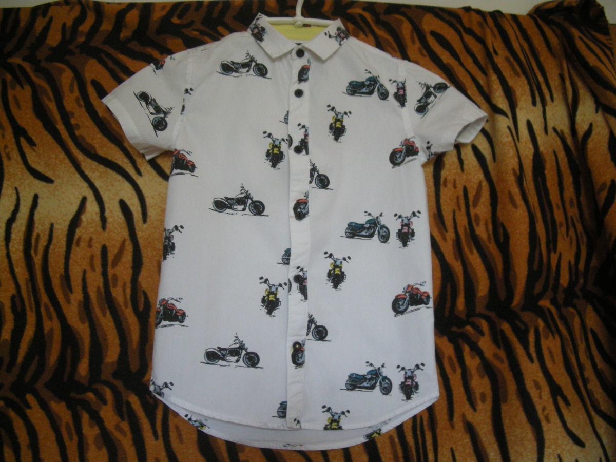 "Тениска-супер""river island"",6лет,116см.,100%коттон,индия"