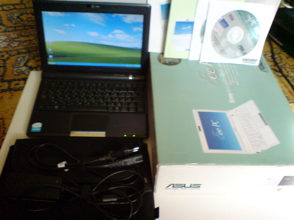 "Нетбук Asus Eee PC 900 8,9""/Cel(0.9GHz)/1Gb/SSD12Gb/LAN/Wi-Fi/Camera"