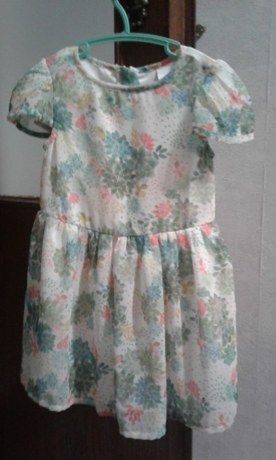 Летнее нарядное платье 104 р.