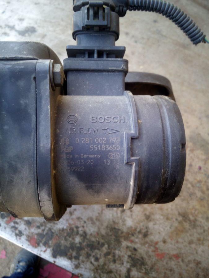 расходомер воздуха отремонтировать фиат добло