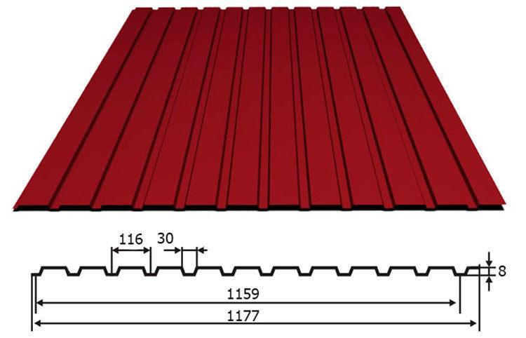Продам профнастил на забор, крыша
