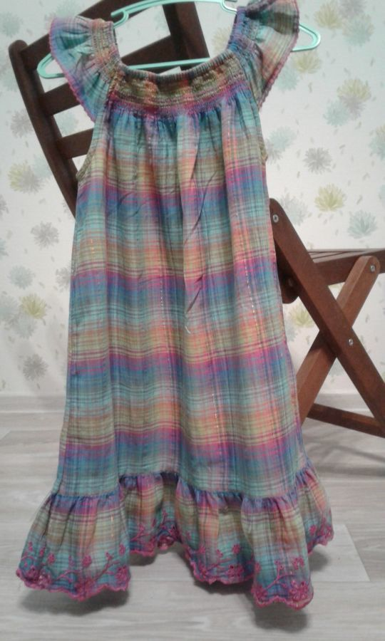 Платье h&m на девочку 7-8 лет