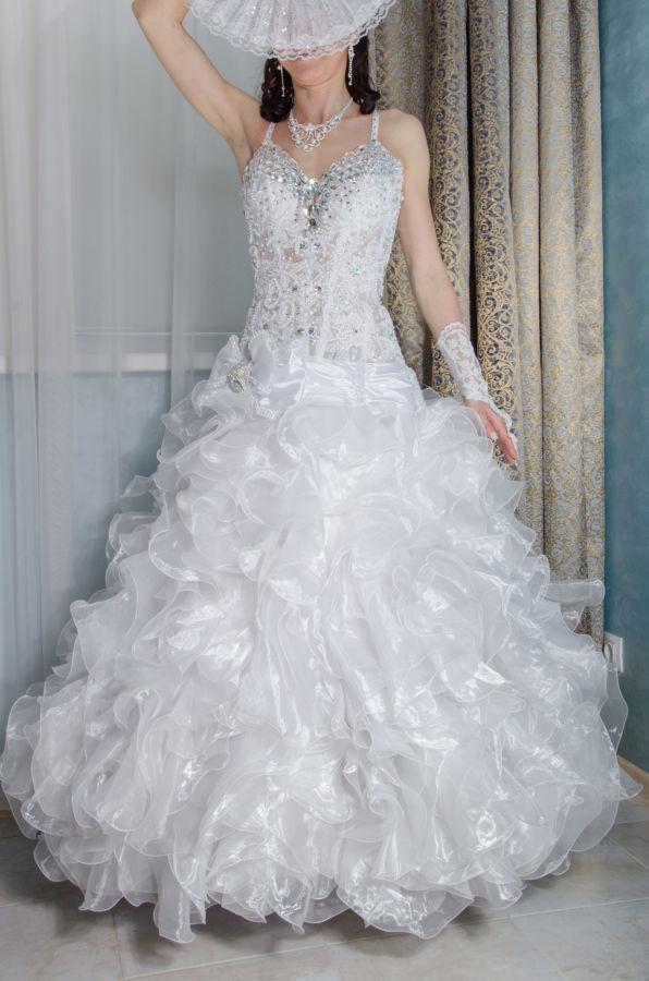682e0bf94e73f45 Продам свадебное платье со стразами: 3 000 грн. - Свадебные платья ...