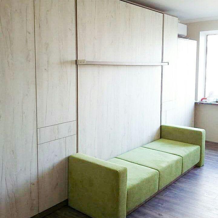 Меблі індивідуального планування. Ліжко-шафа (трансформер)