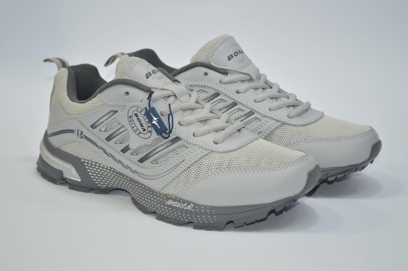 15a103e67 Летние мужские кроссовки Bona,Бона, кожа + сетка: 1 030 грн ...