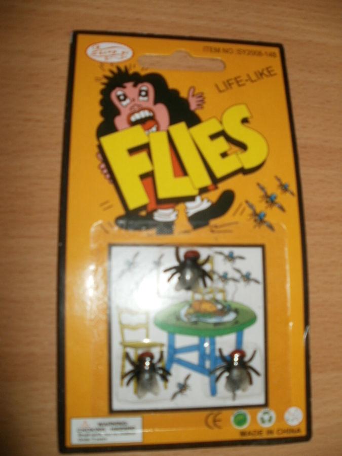 Набор мухи прикол,