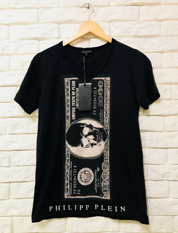 98036004a75 Мужская футболка фирмы Philipp Plein  399 грн. - Футболки Киев ...