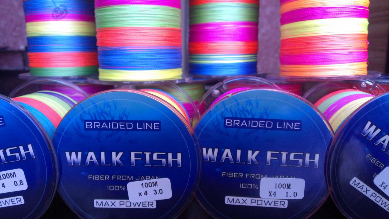 Шнур рыболовный Walk Fish max power 100м.